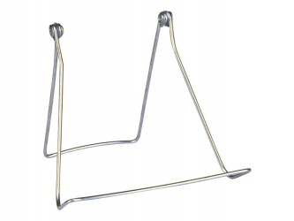 Zinc Plated Display Easel - Wide Base