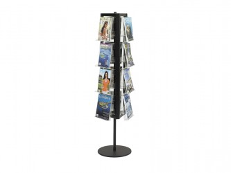 In-View Rotating Magazine Stand