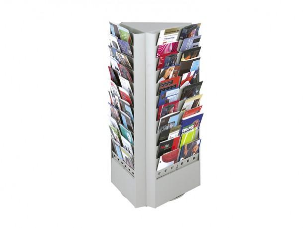 pr sentoir rotatif pour d pliants et magazines biblio rpl lt e. Black Bedroom Furniture Sets. Home Design Ideas