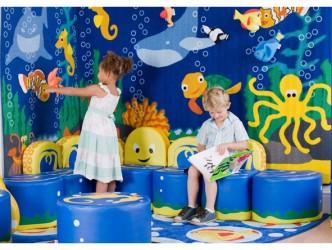 """Présentoir mural """"Ocean Life"""" de Kalokids"""