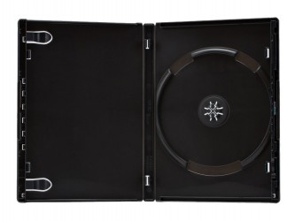 Boîtier DVD simple - Système One Time
