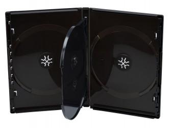 Quadruple DVD Case - One Time System