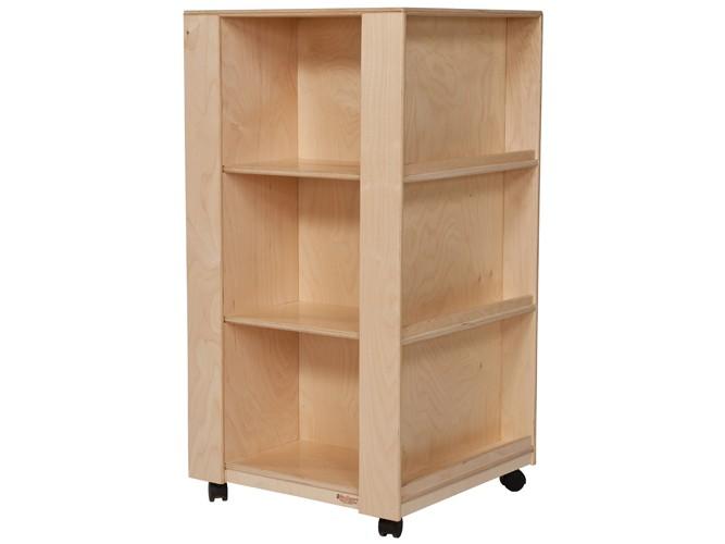 pr sentoir et biblioth que mobile de wood designs biblio rpl lt e. Black Bedroom Furniture Sets. Home Design Ideas