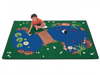 "Tapis de lecture pour enfants ""The Pond"" de Carpets For Kids"