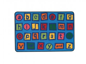"Tapis pour enfants ""KIDS Value Rugs - Alphabet Blocks"" de Carpets for Kids"