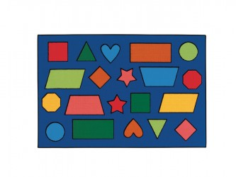 "Tapis pour enfants ""KIDS Value Rugs - Color Shapes"" de Carpets for Kids"