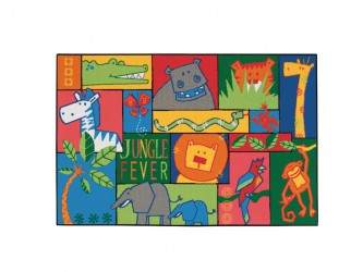 "Tapis pour enfants ""KIDS Value Rugs - Jungle Fever"" de Carpets for Kids"