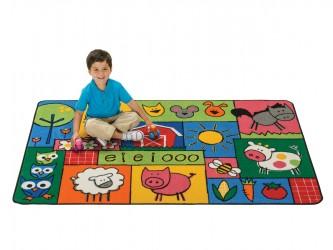 Carpets for Kids KIDS Value Rugs Old MacDonald's Farm Carpet