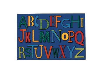 "Tapis pour enfants ""KIDS Value Rugs - Playful Alphabet"" de Carpets for Kids"