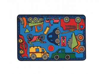 "Tapis pour enfants ""KIDS Value Rugs - Wheels on the Go"" de Carpets for Kids"