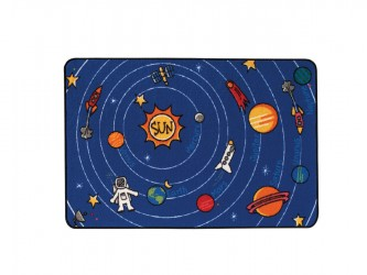 Carpets for Kids KIDS Value Rugs Spaced Out Carpet