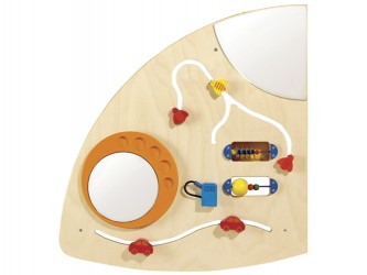 Haba Learning and Sensory Activity Wall - Quarter Circle Left