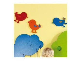 Décoration murale interactive HABA de Gressco - Oiseau bleu
