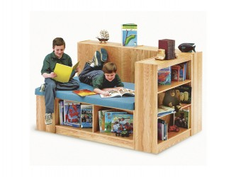 Banc de lecture avec espace de rangement de PALADIN