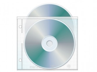 Disc Sleeve for Ring Binder