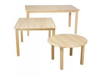 Wood Designs Children's Hardwood Table