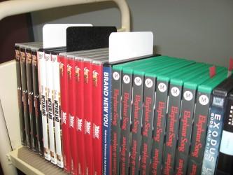 Séparateurs rigides pour DVD