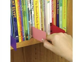 Economy Coloured Shelf Markers