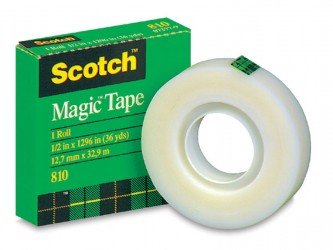 Ruban adhésif invisible Scotch 810