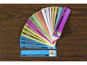 Ensemble de 105 étiquettes Suivez le Guide pour tablettes