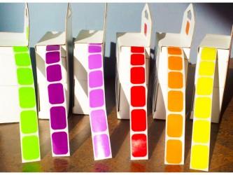 Étiquettes de couleur