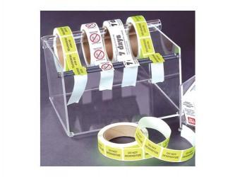 Acrylic Label Dispenser
