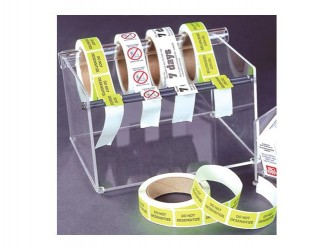 Distributeur d'étiquettes en acrylique