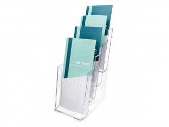 Acrylic Countertop Literature Holder