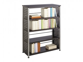Safco Scoot 4 Shelves Bookcase