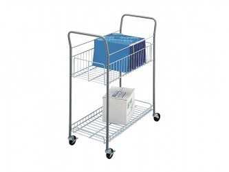 Safco Economy Wire Cart