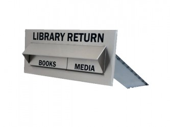 American Book Returns HCU Through Wall - Double Drop for Books and Media