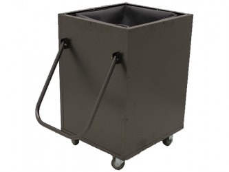 American Book Returns M810 Aluminum Book Return Cart