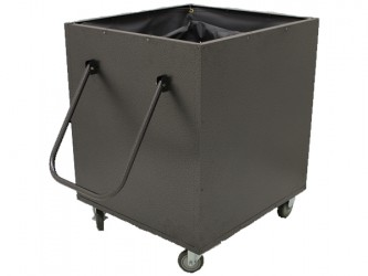 American Book Returns M910 Aluminum Book Return Cart