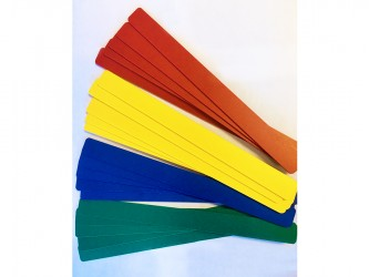 High Quality Coloured Shelf Markers