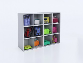 Whitney Brothers 12 Cubby Storage Unit
