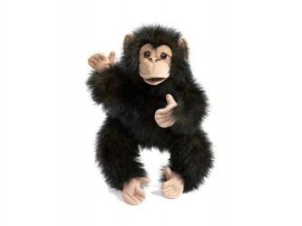 Marionnette à main Bébé Chimpanzé de Folkmanis