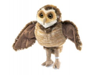 Folkmanis Burrowing Owl Hand Puppet