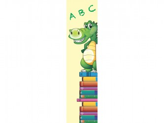 """Alligator"" Biblio RPL Bookmarks"