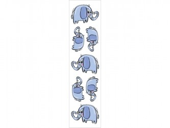 """Elephants"" Biblio RPL Bookmarks"