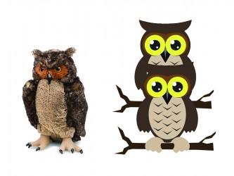Giant Mascot Pack - Owls