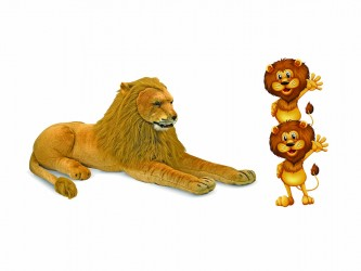 Giant Mascot Pack - Lions