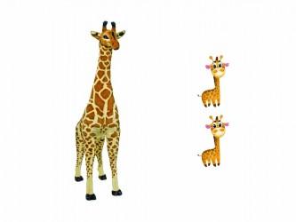 Ensemble géant de mascotte - Les girafes