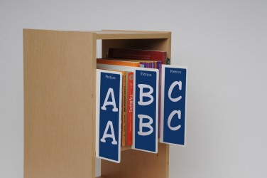 Junior Fiction Shelf Markers Set
