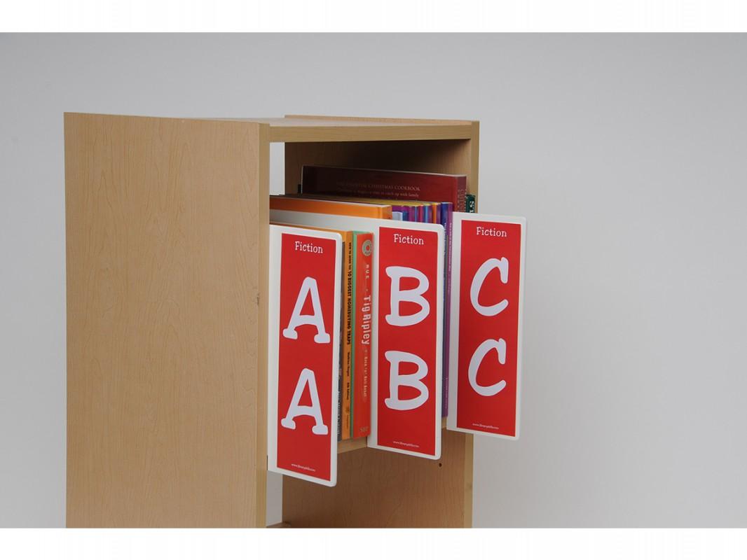 Junior Fiction Shelf Markers Set Biblio Rpl Lt 233 E