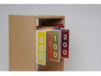 Dewey Shelf Markers Set