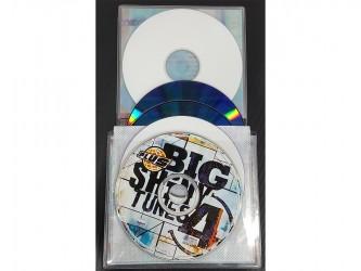 Pochette en vinyle pour CD de Biblio RPL - 3 à 5 disques