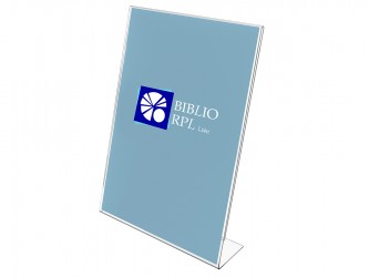 Acrylic Slanted Sign Holder