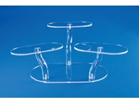 Acrylic Adjustable Oval Platform Riser