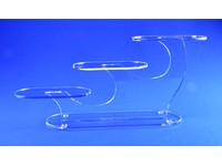 Acrylic Oval Three-Platform Riser