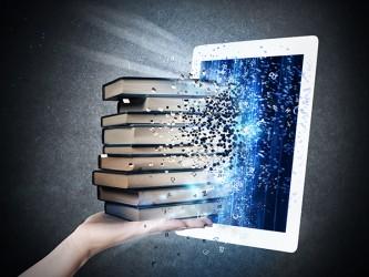 Digital books - Self-Adhesive Vinyl Poster